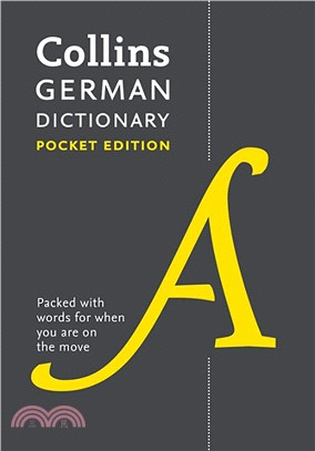 Collins German Dictionary Pocket Edition: 40,000 words and phrases in a portable format (Collins Pocket Dictionary)