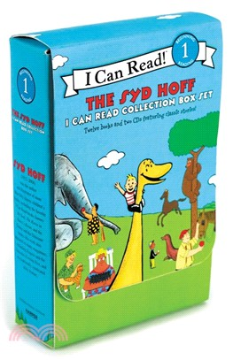 The Syd Hoff I Can Read Collection Box Set (12平裝+2CDs)