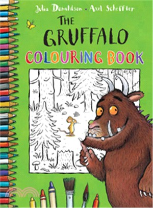 The Gruffalo Colouring Book (著色本)