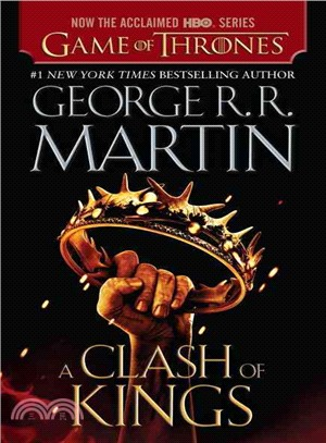 A Song of Ice and Fire #2: A Clash of Kings (HBO Tie-in Edition)(美國版)