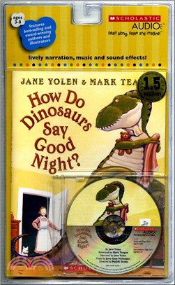 How Do Dinosaurs Say Good Night? (1書+1CD)