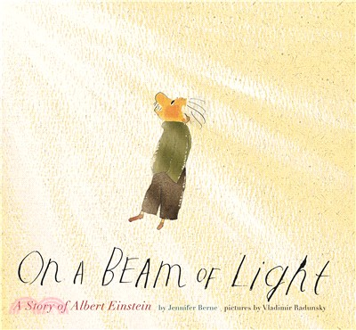 On a Beam of Light-A Story of Albert Einstein (平裝本)