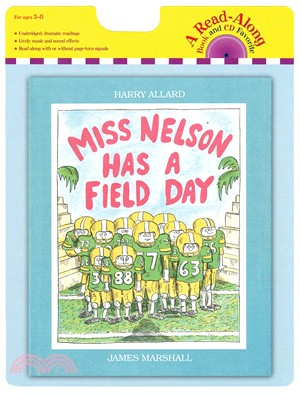 Miss Nelson Has a Field Day (1書+1CD)