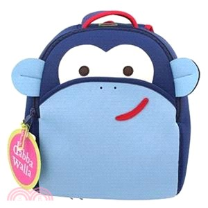 【Dabbawalla】瓦拉背包-粉藍猴