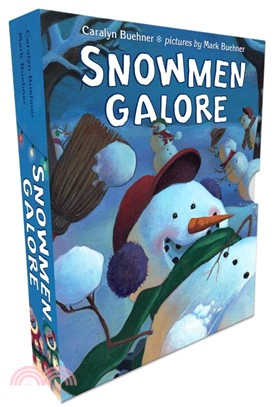 Snowmen Galore ─ Snowmen at Work / Snowmen All Year / Snowmen at Christmas / Snowmen at Night (Hidden Pictures on Every Page)