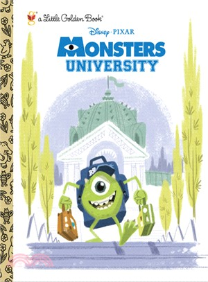 Monsters University Little Golden Book