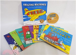 Amazing Machines Collection (10Books+1CD)