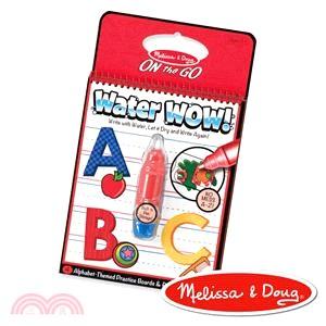 美國瑪莉莎Melissa & Doug 旅遊樂水畫冊 英文字母學習A-Z