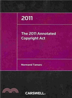 The Annotated Copyright Act 2011