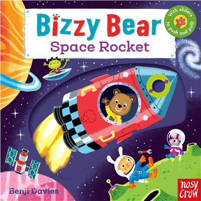 Bizzy Bear: Space Rocket (硬頁書)(英國版)