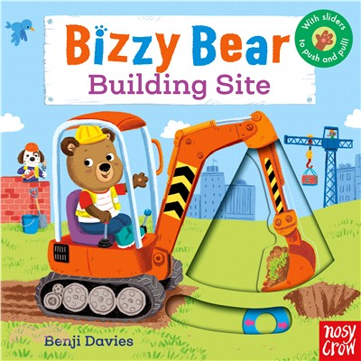 Bizzy Bear: Building Site (硬頁書)(英國版)
