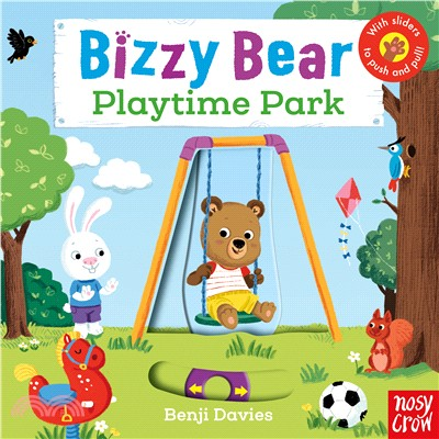 Bizzy Bear: Playtime Park (硬頁書)(英國版)