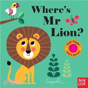 Where's Mr Lion? (Felt Flaps)