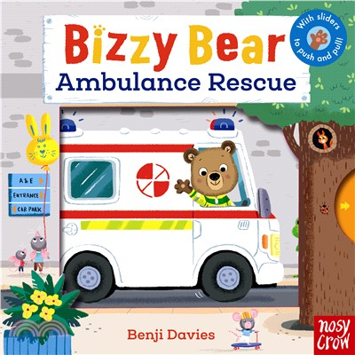 Bizzy Bear: Ambulance Rescue (硬頁書)(英國版)
