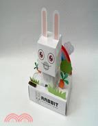 太陽能紙模型 兔子