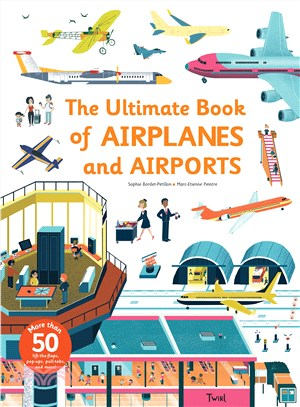 The Ultimate Book of Airplanes and Airports (精裝本)