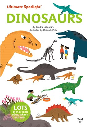 Ultimate Spotlight: Dinosaurs (精裝硬頁翻拉書)
