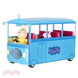 粉紅豬小妹 校車巴士