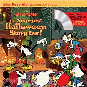 Disney Mickey Mouse: The Scariest Halloween Story Ever! (1平裝+1CD)