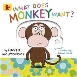 What Does Monkey Want? (硬頁操作書)