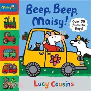 Beep, Beep, Maisy! (硬頁翻翻書)
