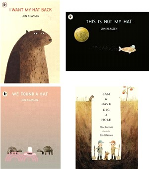 Jon Klassen Picture Book Collection (4平裝入)