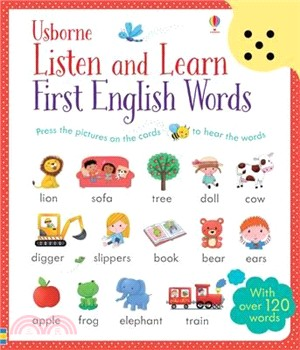 Listen and Learn First English Words (音效書)