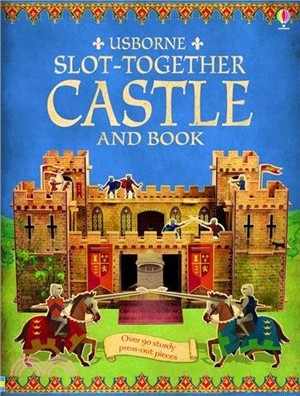 Usborne Slot Together Castle Book (立體組裝書)