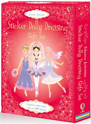 Sticker Dolly Dressing Gift Set (盒裝禮物書)(6平裝)