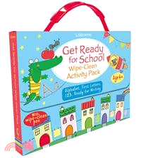 Usborne Get Ready for School Wipe-Clean Activity Pack