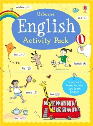 English Activity Pack (4 books)