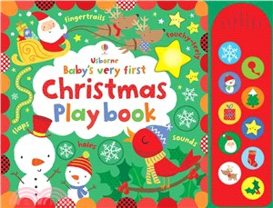 Baby's Very First Touchy-Feely Christmas Play book (硬頁音效書)