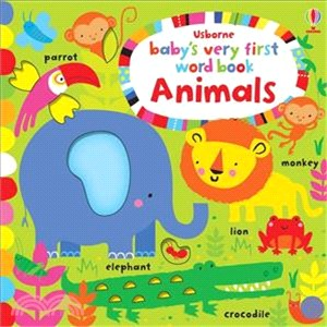 Baby's Very First Play Book Animal Words (硬頁書)