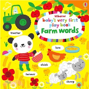 Baby's Very First Play Book Farm Words (硬頁書)