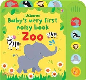 Baby's Very First Noisy Book Zoo (硬頁音效書)
