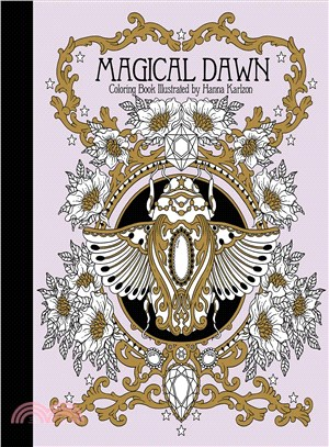 Magical Dawn Coloring Book ─ Published in Sweden As Magisk Gryning