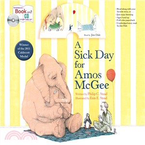 A Sick Day for Amos McGee (1平裝+1CD)