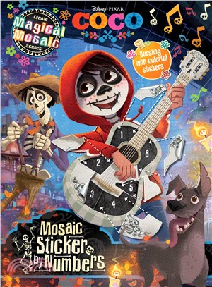 Disney Pixar Coco Mosaic Sticker by Numbers ― With over 1000 Stickers