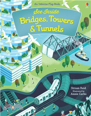 See Inside Bridges, Towers and Tunnels (硬頁書)
