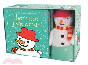 That's Not My Snowman Book and Toy (1硬頁觸摸書+1玩偶)