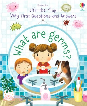 Lift-the-Flap Very First Questions and Answers: What are Germs (硬頁書)