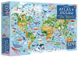 The World (Usborne Atlas and Jigsaw)