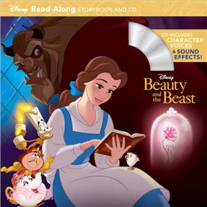 Beauty and the Beast (1平裝+1CD)-Disney Read-Along