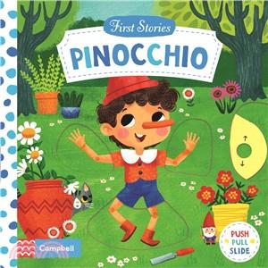 Pinocchio (First Stories)(硬頁推拉書)