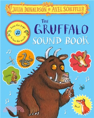 The Gruffalo Sound Book (精裝音效書)