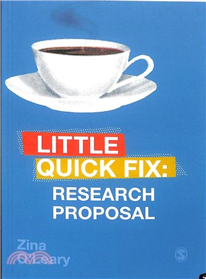 Little quick fix :  research proposal /