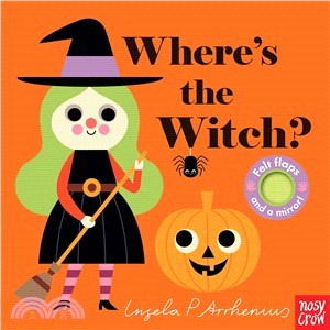 Where's the Witch? (Felt Flaps)