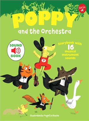 Poppy and the Orchestra: With 16 musical instrument sounds! (音效書)