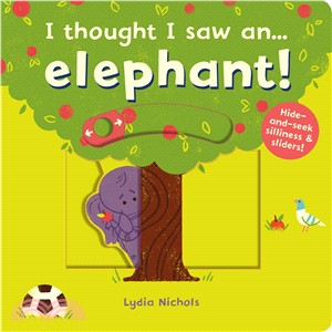 5月中到貨-I thought I saw an...elephant! (硬頁操作書)
