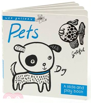 Wee Gallery Board Books: Pets (硬頁推拉書)